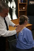 Chiropractic Waterloo IA neck adjustment